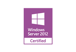 Certified for Windows Server 2012